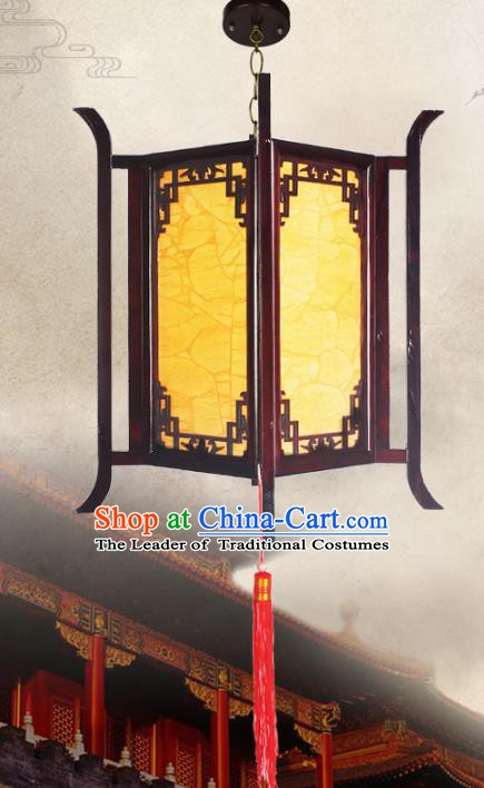 Chinese Handmade Hanging Lantern Traditional Palace Parchment Ceiling Lamp Ancient Lanterns
