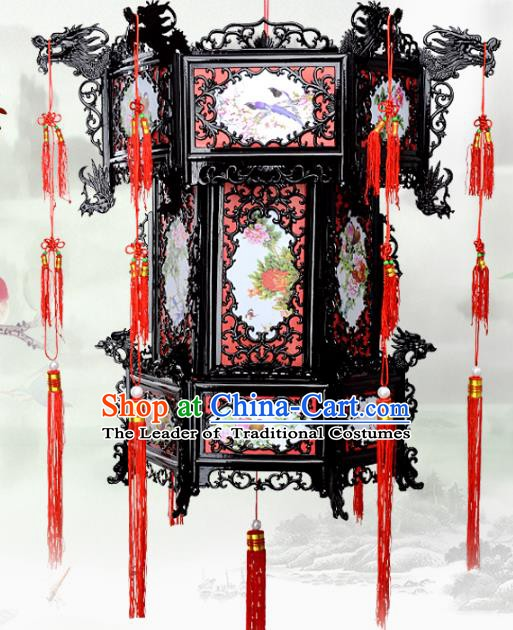 Chinese Handmade Palace Lanterns Traditional New Year Hanging Lantern