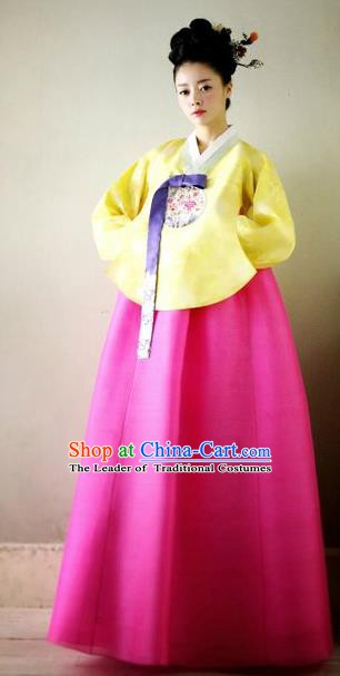 Korean Traditional Bride Palace Hanbok Clothing Korea Fashion Apparel Dress for Women