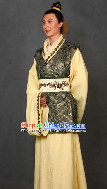 Chinese Ancient Novel A Dream in Red Mansions Nobility Childe Jia Lian Costume for Men