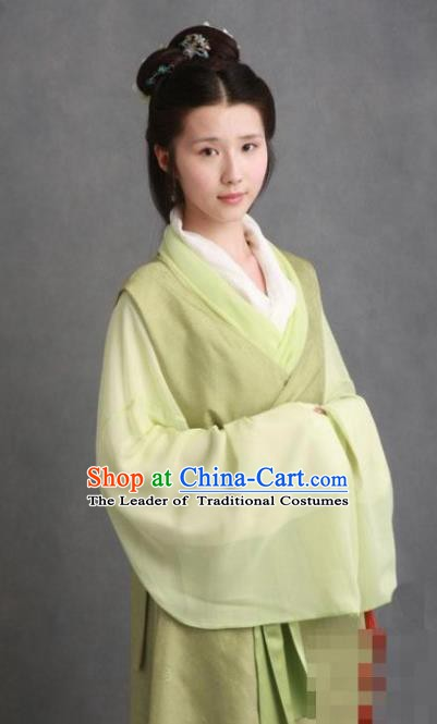 Chinese Ancient Novel Character A Dream in Red Mansions Nobility Lady Jia Xichun Costume for Women