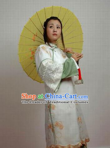 Chinese Ancient Qing Dynasty Manchu Imperial Consort of Shunzhi Kong Sizhen Costume for Women