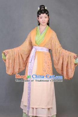 Chinese Ancient A Dream in Red Mansions Character Shi Xiangyun Costume for Women