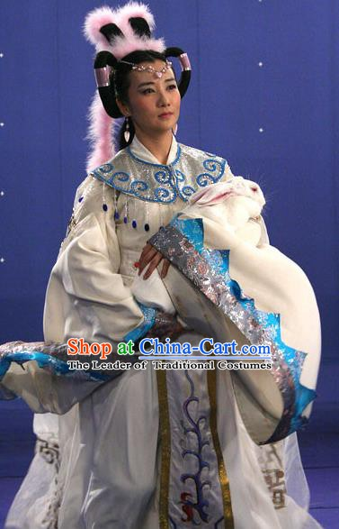 Chinese Ancient Novel Journey to the West Fairy Chang-Ngo Dress Costume for Women