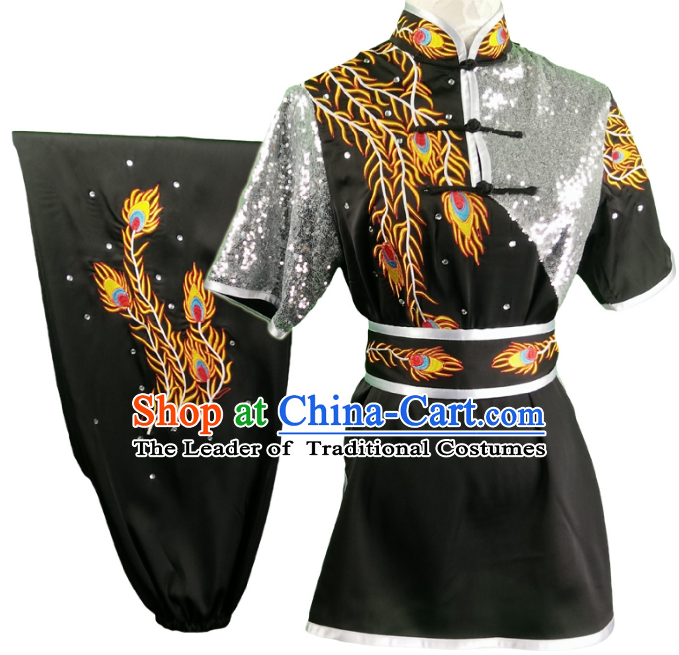 Top Changquan Nanquan Long Fist Southern Fist Phoenix Embroidery Best and the Most Professional Kung Fu Martial Arts Clothing Competition Suits