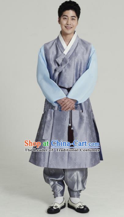 Ancient Korean Official Costume Set Korean Male Warrior Costume