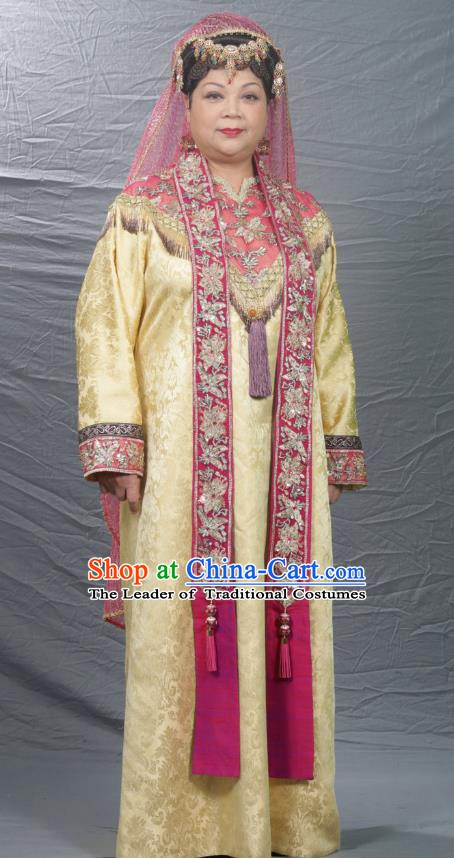 Chinese Ancient Song Dynasty Persian Queen Replica Costume for Women