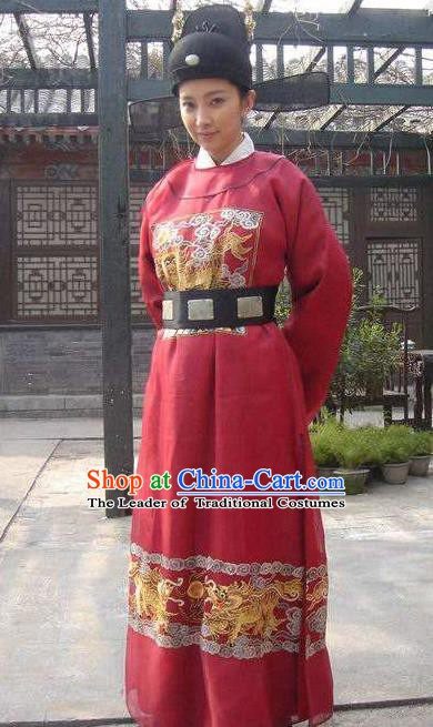 Ancient Chinese Ming Dynasty Female Consort Prince Replica Costume for Women