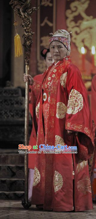 Ancient Chinese Song Dynasty Yang Family She Saihua Female General Replica Costume for Women