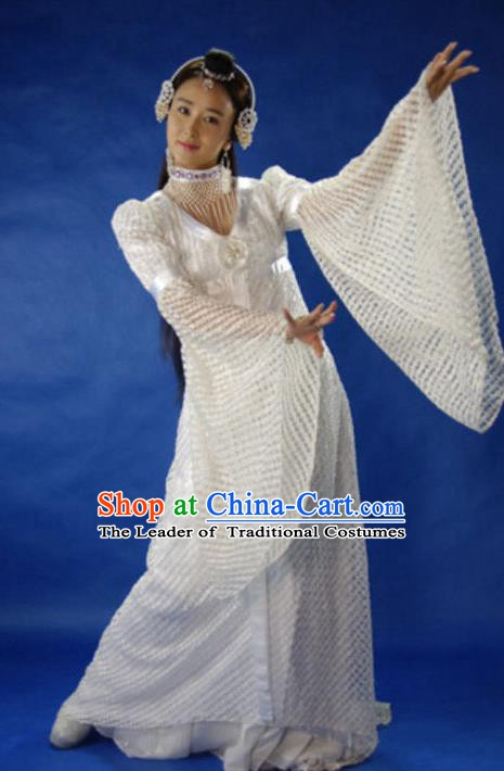 Ancient Chinese Song Dynasty Princess Dance Dress Fairy Hanfu Replica Costume for Women