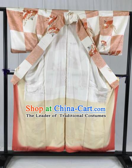 Japanese Traditional Mikado Kimono Ancient Samurai Yukata Robe Wafuku Hakama Haori Clothing for Men