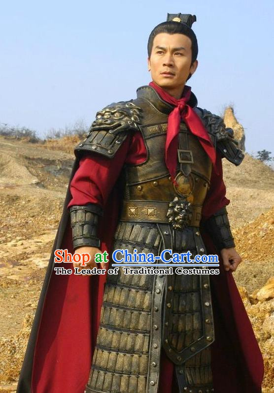 Chinese Song Dynasty Emperor Taizu Zhao Kuangyin Clothing Ancient Imperator Replica Costume for Men