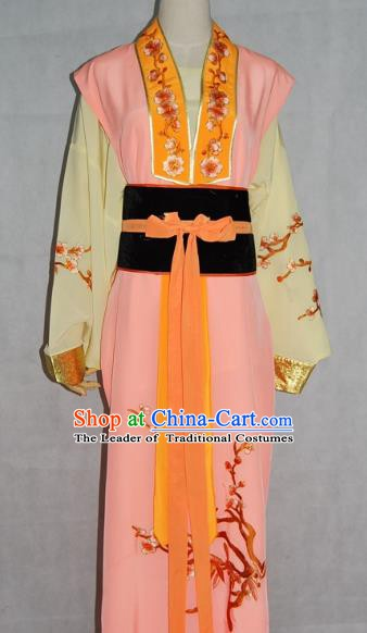 China Traditional Beijing Opera Actress Embroidered Dress Chinese Peking Opera Young Lady Costume