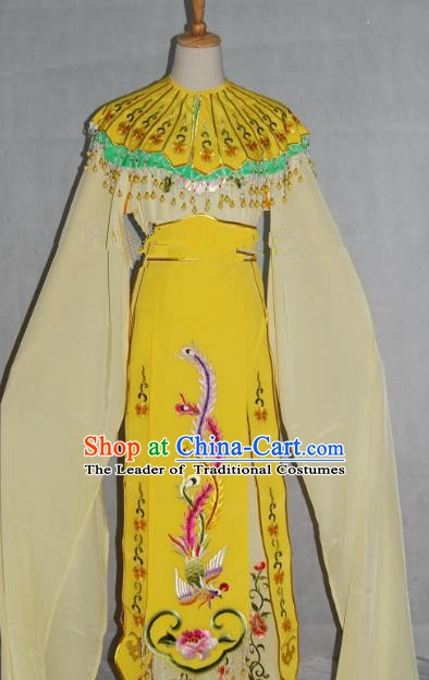 China Traditional Beijing Opera Actress Embroidered Dress Chinese Peking Opera Princess Costume