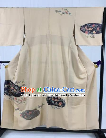 Japanese National Costume Kimono Ancient Palace Wafuku Hakama Yukata Robe for Men