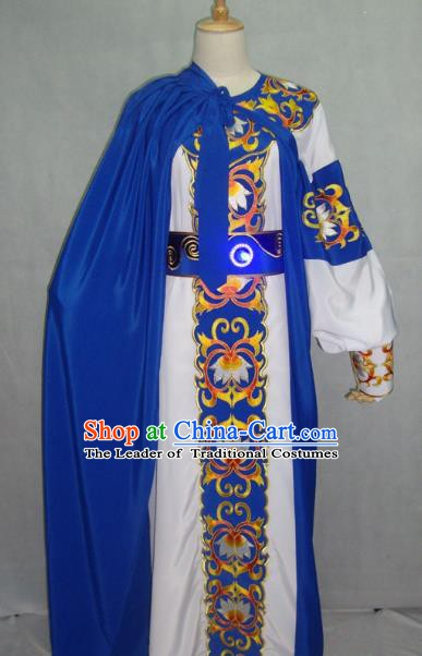 China Beijing Opera Niche Embroidered Clothing Chinese Traditional Peking Opera Prince Costume for Adults