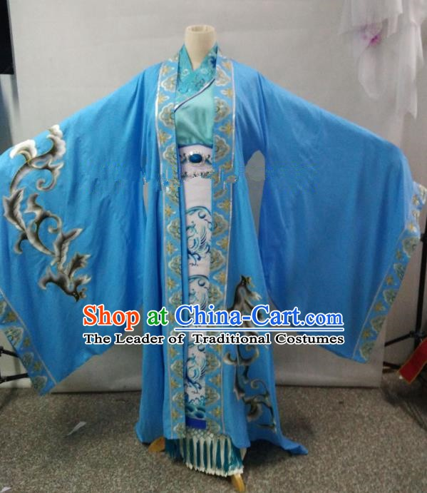 Traditional China Beijing Opera Empress Dress Chinese Peking Opera Diva Embroidered Costume