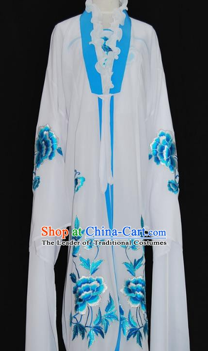 Traditional Chinese Beijing Opera Palace Lady Dress Peking Opera Diva Embroidered Costume