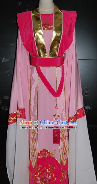 Traditional Chinese Beijing Opera Costume Peking Opera Niche Pink Clothing for Adults