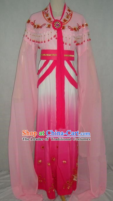 Top Grade Chinese Beijing Opera Princess Costume China Professional Peking Opera Pink Dress