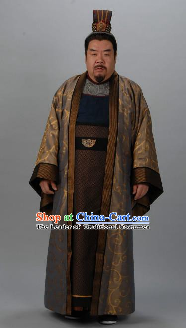 Chinese Ancient Tang Dynasty Prime Minister Di Renjie Replica Costume for Men