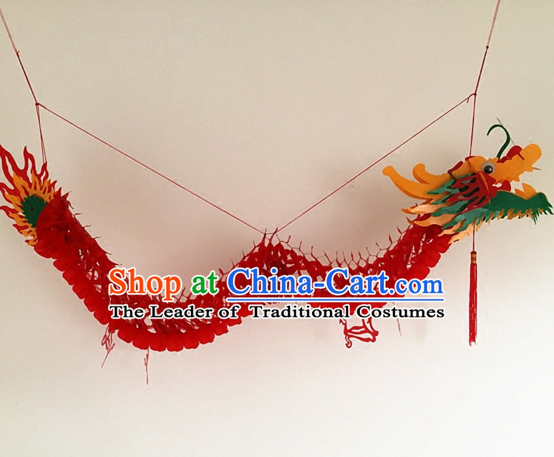 Long Chinese Dragon Arts for Hanging on the Ceiling