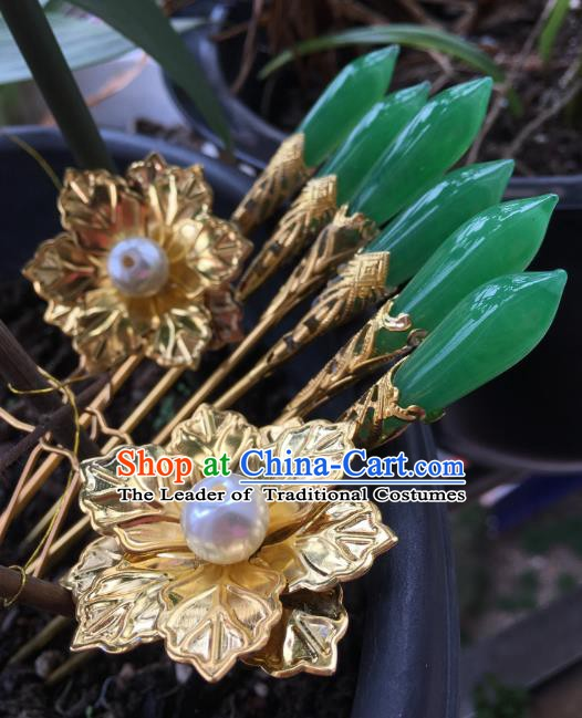 Chinese Ancient Hair Accessories Hair Clip Hairpins Headwear for Women