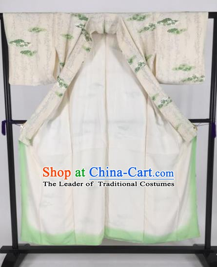 Japanese Male Costume Ancient Palace White Kimono Traditional Wafuku Hakama Yukata Robe for Men