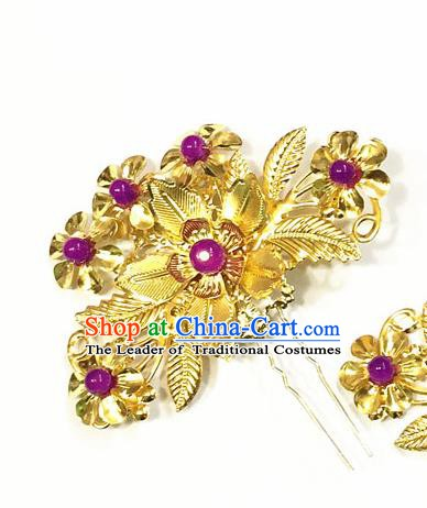 Asian Chinese Ancient Palace Lady Hair Accessories Hairpins for Women