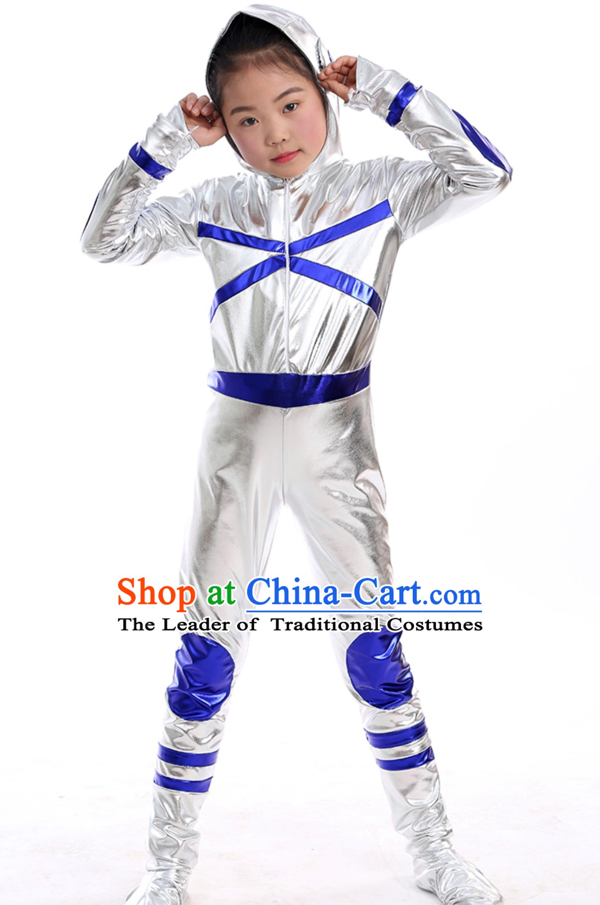 Cosmonauts Dance Costumes Complete Set for Adults and Kids