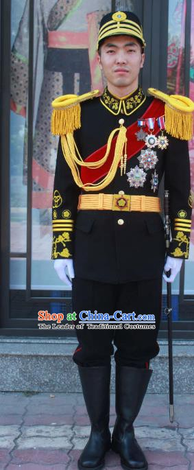 Chinese Republic of China Military Officer Costume for Men
