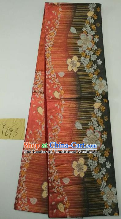 Japanese Traditional Brocade Waistband Kimono Yukata Dress Wafuku Belts for Women