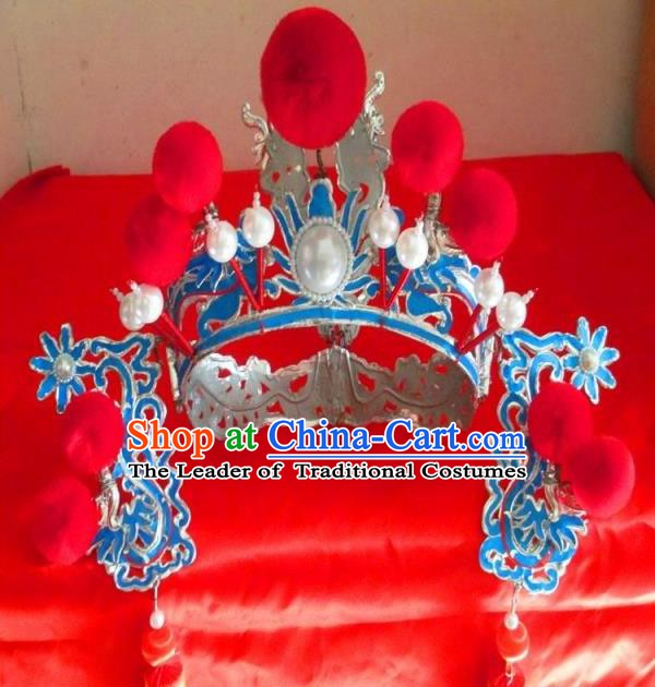 Traditional Chinese Beijing Opera Niche Hats Hair Accessories Peking Opera Headwear