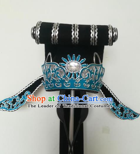 Traditional Chinese Beijing Opera Niche Hair Accessories Peking Opera Scholar Hats Headwear