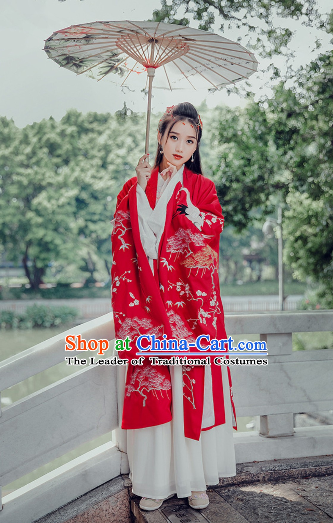Top Traditional Hanfu Dress Embroidered Crane Clothing Daxiushan Formal Wear of Royal Chinese Women