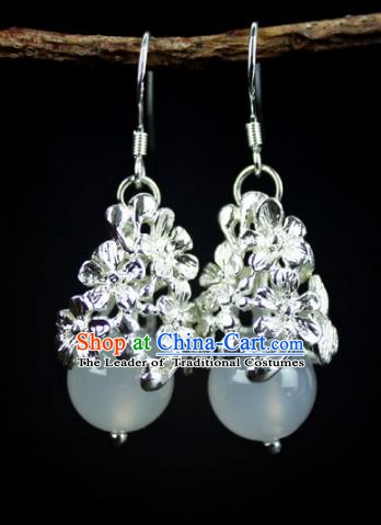 Chinese Ancient Handmade Earrings Accessories Hanfu Eardrop for Women