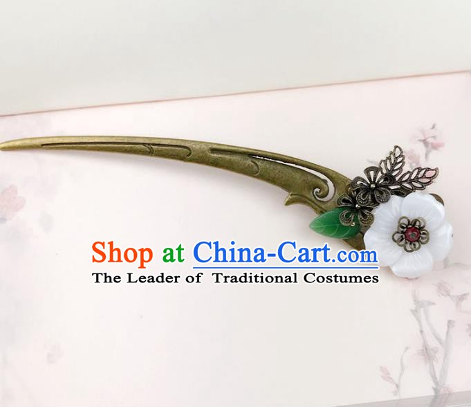 Chinese Ancient Handmade Hair Accessories Classical Hairpins Hair Clip for Women