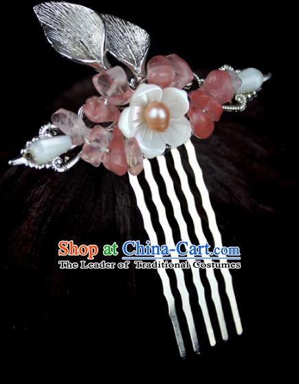 Chinese Ancient Handmade Hair Accessories Classical Hairpins Hair Comb for Women