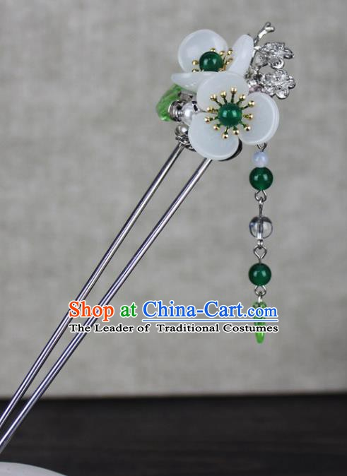 Chinese Ancient Handmade Hair Accessories Classical Hairpins Flowers Hair Clips for Women