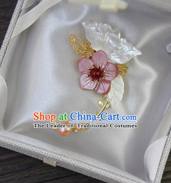 Chinese Ancient Handmade Accessories Butterfly Flowers Brooch for Women