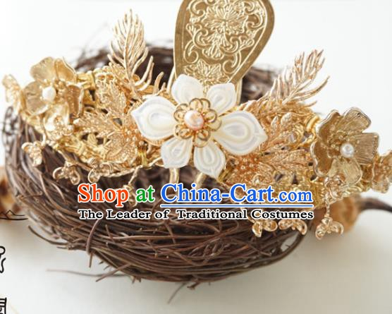 Chinese Ancient Handmade Hanfu Phoenix Hairpins Hair Accessories for Women