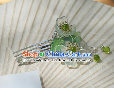 Chinese Ancient Handmade Hanfu Hair Comb Hairpins Palace Lady Hair Accessories for Women