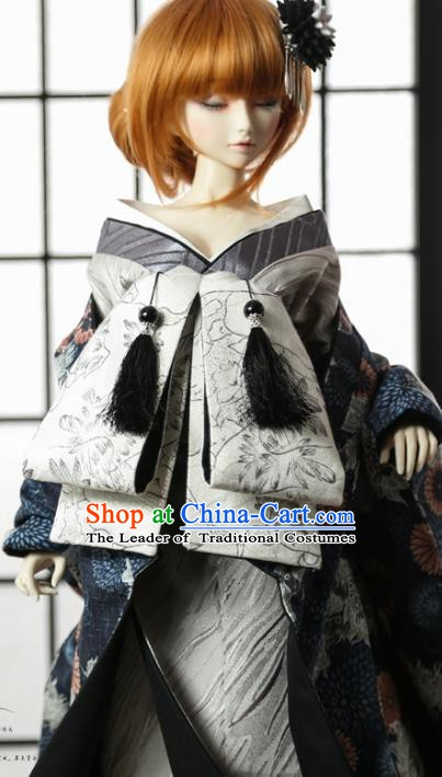 Traditional Asian Japan Costume Japanese Fashion Apparel Kimono Vibration Sleeve Kimono for Women