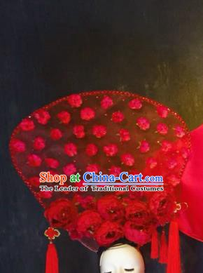 Top Grade China Ancient Hair Accessories Palace Hair Crown Stage Performance Headdress for Women