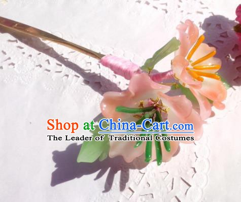 Traditional Chinese Ancient Hair Accessories Hair Stick Flowers Hairpins Hair Jewellery Headwear for Women
