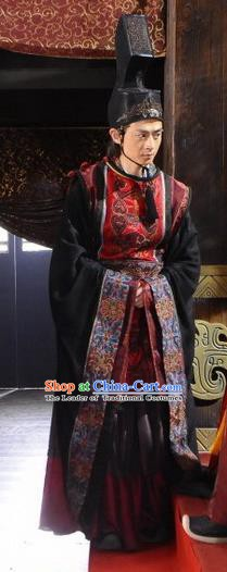 Ancient Chinese Spring and Autumn Period Eunuch Replica Costumes for Men