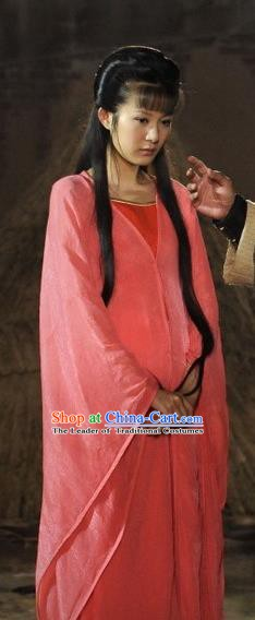 Ancient Chinese Spring and Autumn Period Palace Lady Imperial Concubine Replica Costume for Women