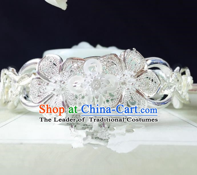 Chinese Handmade Classical Hair Accessories Hairdo Crown Hairpins Hair Stick for Women