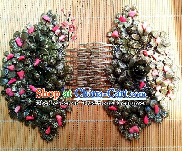 Traditional Chinese Ancient Hair Accessories Hair Combs Hairpins for Women