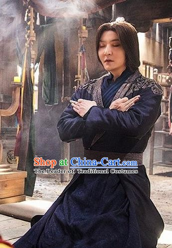 Nirvana in Fire Ancient Chinese Taoist Priest Sacrificial Architect Replica Costume for Men